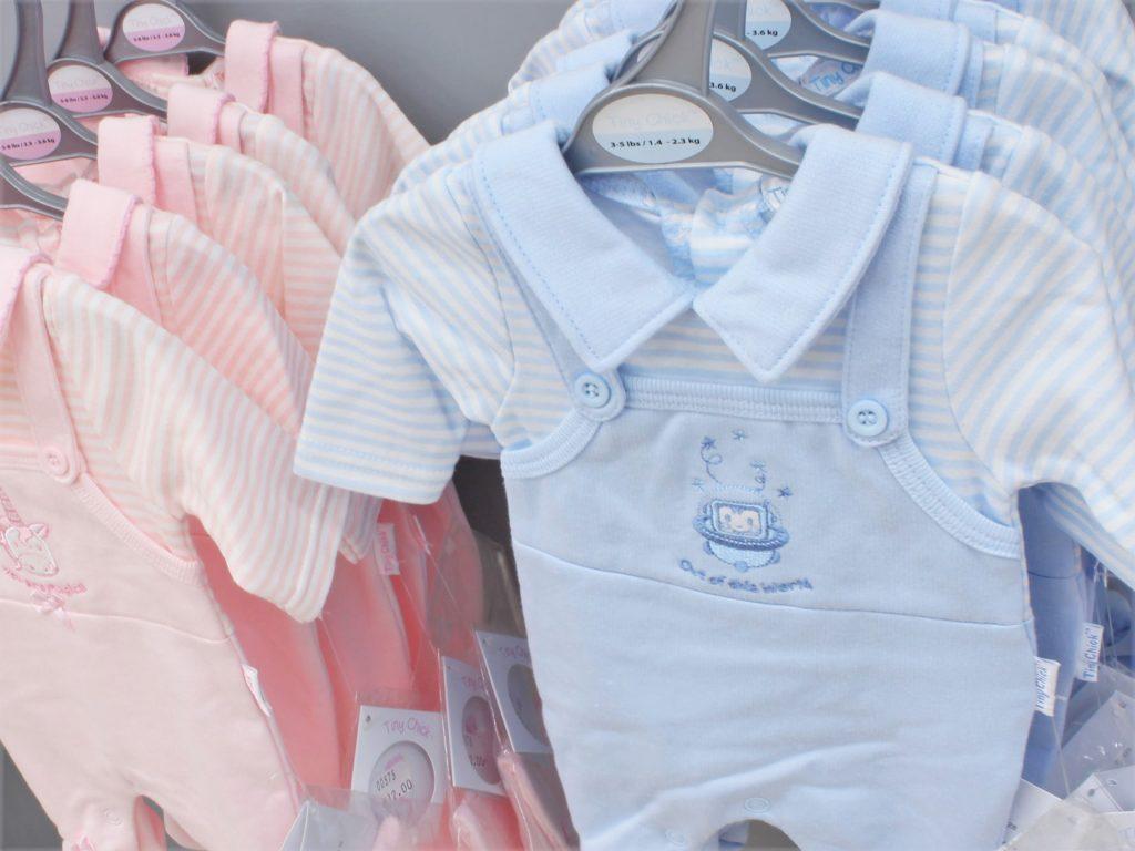 Tiny baby clothing at Junior Jungle