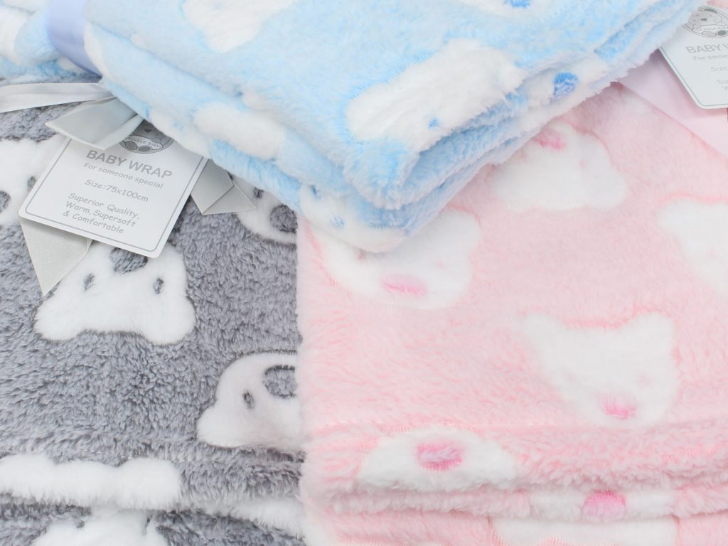 Baby blankets at Junior Jungle