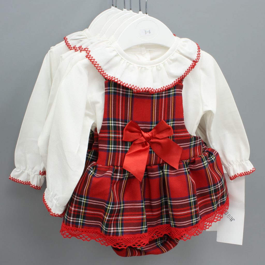 Nova red Spanish baby suit £29.00