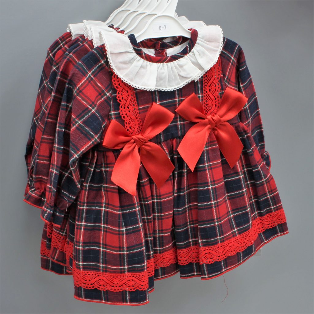 Genesis red Spanish baby dress £29.00