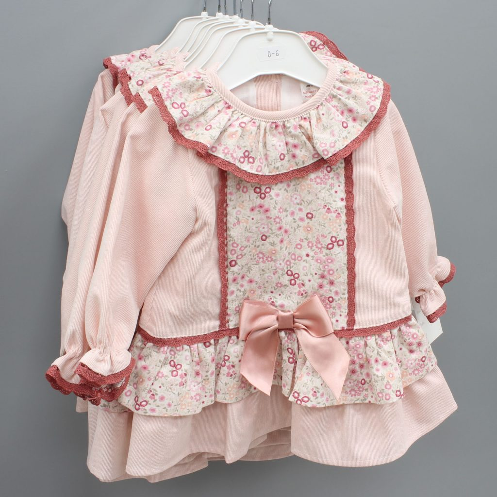 Kennedy pink Spanish baby dress £20.00