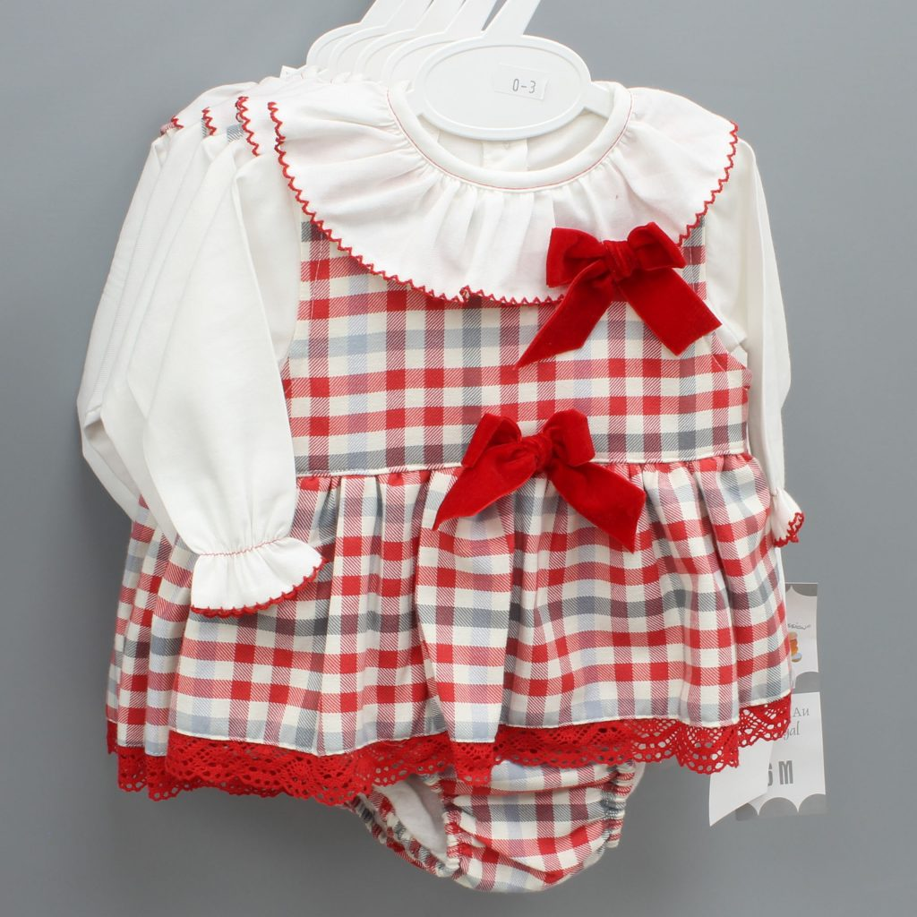 Willow red Spanish baby suit £29.00
