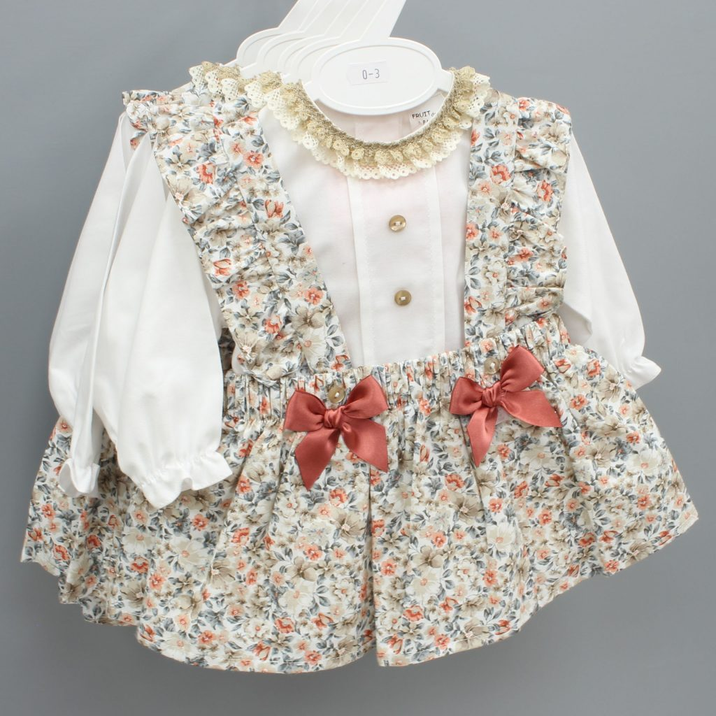 Elena cream Spanish baby suit £20.00