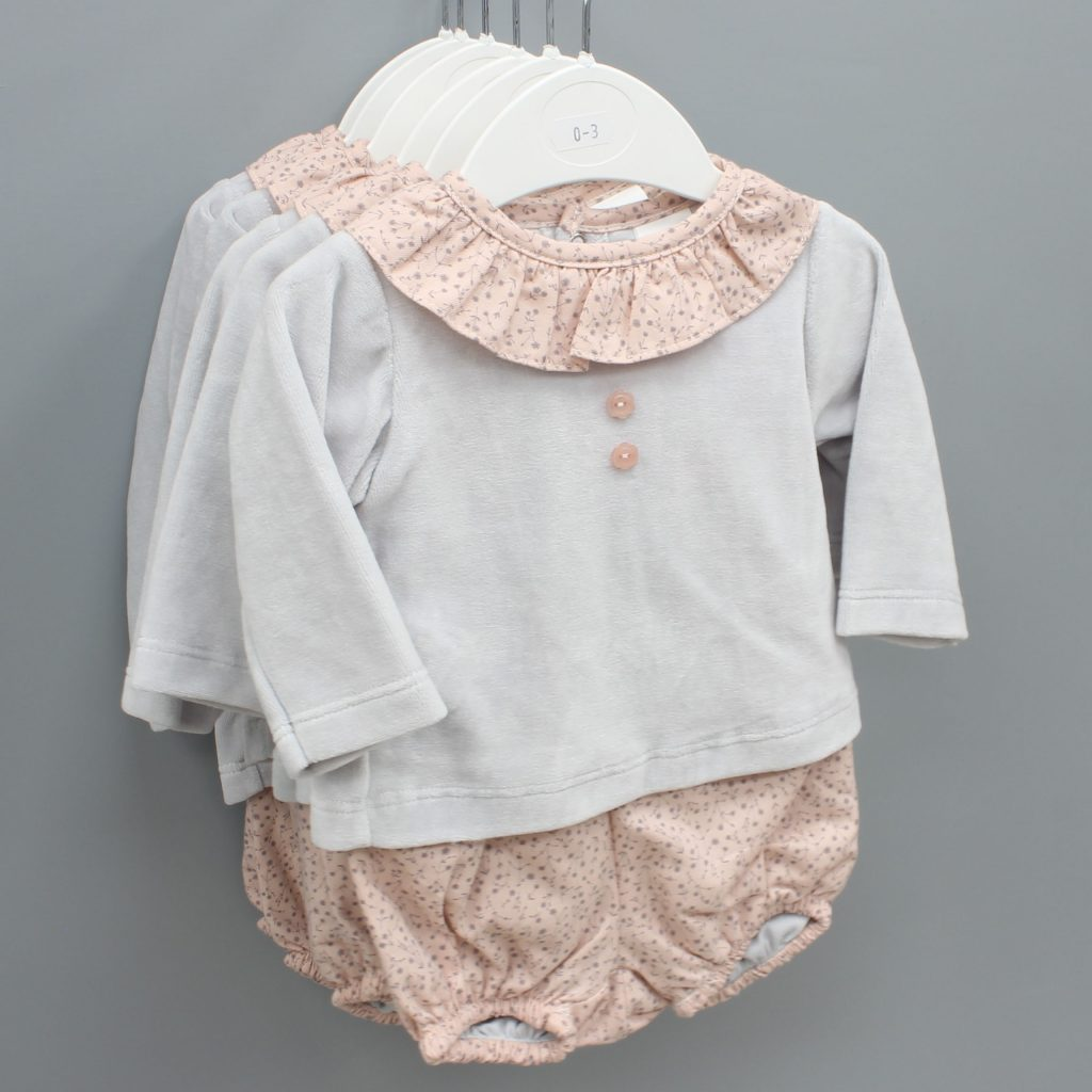 Gabriella grey Spanish baby suit £10.00