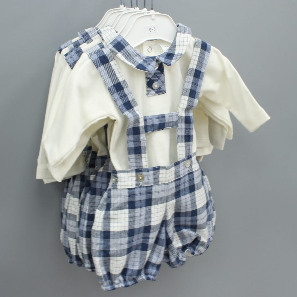 Theodore blue Spanish baby suit £27.00